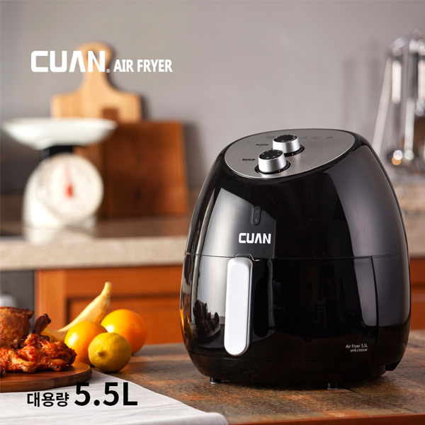 쿠앤 대용량 에어프라이어 5.5L MYB-C5501AF